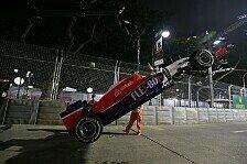 Formel 1 - Zwei Unfälle, zwei neue Getriebe für Manor