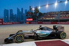 Singapur, die Problemstrecke von Mercedes