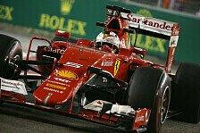 Formel 1 - Vettel: Die erste Pole im Ferrari