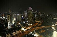 Live-Ticker Singapur GP: Am Donnerstag findet die Fahrer-Pressekonferenz statt