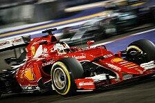 Formel 1 - Vettel: Folgt in Singapur Sieg Nummer drei?
