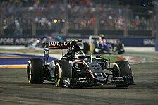 Formel 1 - Perez verteidigt siebten Platz eisern