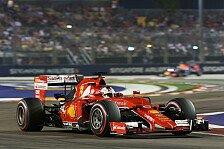 Formel 1 - Singapur GP: Vettel gewinnt - Hamilton fällt aus