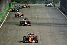 Formel 1 - Live-Ticker: Der Sonntag in Singapur