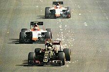 Formel 1 - Maldonado wegen Kollision sauer auf Button