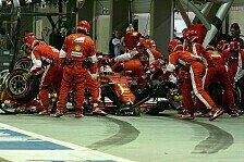 Formel 1 - Singapur GP: Die Boxenstopp-Analyse