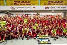 Formel 1 - Marchionne: 2016 muss für Ferrari der Titel her!