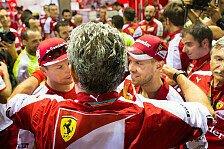 Formel 1 - Ferrari-Boss: Die Details zum Räikkönen-Vertrag