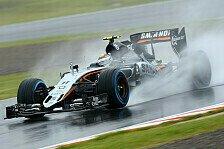 Formel 1 - Regen in Suzuka: Force India fehlen Reifen-Infos
