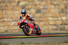 MotoGP - FP3: Marquez versägt Yamaha-Stars