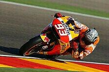 MotoGP - Marquez zerschmettert Pole-Rekord und stürzt