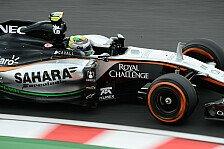 Formel 1 - Perez: Von Sainz zerstört, dann Sainz zerstört