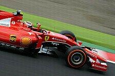 Formel 1 - Räikkönen lobt Pace: Bester Ferrari der Saison