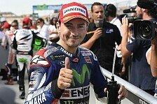 MotoGP - Lorenzo auf Boden der Tatsachen zurück