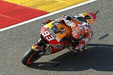 MotoGP - Marquez dominiert in Aragon auch Warm Up