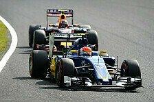 Formel 1 - Nasr: Lenkprobleme von Japan noch ungeklärt