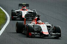 Formel 1 - Manor: Rossi verhindert teaminterne Kollison