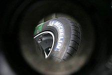 Formel 1 - Reifen-Lotterie: Vom Trocken- bis zum Extremwetter-Pneu