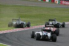 Formel 1 - Bilder: Japan GP - Start