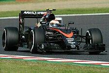 Formel 1 - Offiziell: McLaren bestätigt Button für 2016