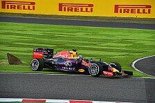 Formel 1 - Red Bull: Rabenschwarzes Wochenende in Japan