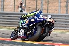 MotoGP - Rossi verliert fesselnden Zweikampf gegen Pedrosa