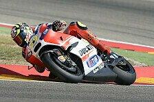 MotoGP - Ducati: Iannone trotz Verletzung vor Dovizioso