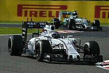 Formel 1 - Bottas: Saison ist abgehakt