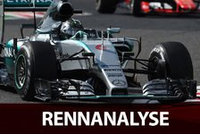 Formel 1 - Renn-Analyse: Rosberg trickst Vettel aus