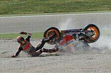 MotoGP - Marquez frisst erneut Staub