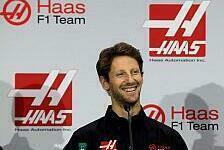 Formel 1 - F1-Woche im Rückblick: Grosjean & Geburtstag
