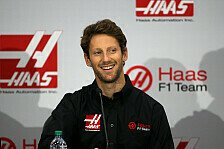 Formel 1 - Grosjean schon bei Haas - 2. Fahrer am Freitag