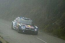 WRC - Volkswagen mit Problemen im Sturm von Korsika