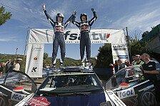 WRC - Volkswagen feiert auf Korsika zehnten Saisonsieg