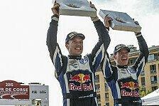 WRC - Rallye Frankreich: Die Stimmen zum Sonntag