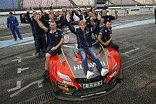 ADAC GT Masters - Dominik Baumann gewinnt Vize-Meisterschaft