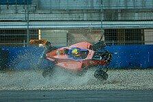 Mehr Motorsport - Die sieben schlimmsten Unfälle in Nachwuchsserien