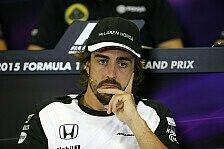 Formel 1 - Alonso: Bis mindestens 2017 bei McLaren?