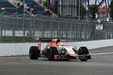 Formel 1 - Merhi erwischt blödes Comeback-Wochenende