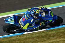 MotoGP - Espargaro sorgt für Suzuki-Glanzlicht