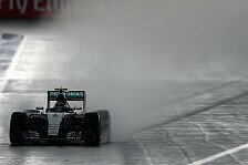 Formel 1 - Silberpfeile im 2. Training ohne Rundenzeiten