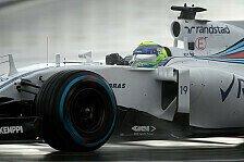 Formel 1 - Williams: Bestzeit im zweiten Training