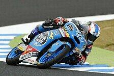 Moto3 - Navarro führt wechselhaftes zweites Training an