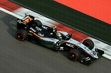 Formel 1 - Perez holt drittes Podium für Force India