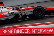 Formel 1 - Video: MSM TV: GP2-Pilot Rene Binder im Interview