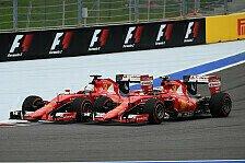 Formel 1 - Räikkönen will Vettel helfen: Teamorder ist ok