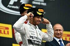 Formel 1 - Russland GP: Hamilton siegt - Rosberg fällt aus