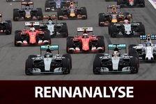 Formel 1 - Rennanalyse: Perez mit Glück und guter Strategie