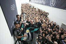 Formel 1 - Mercedes: WM-Feierlichkeiten in den Fabriken