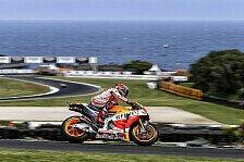 MotoGP - Marquez nach Beinahe-Sturz auf Pole Position